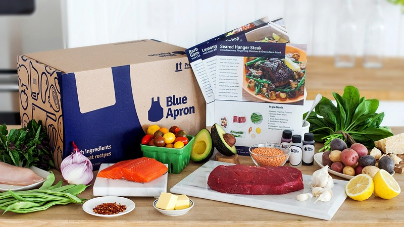 Insiders At Blue Apron Might Not Be Feeling Blue In 2022